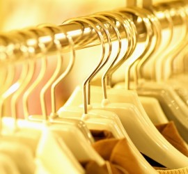 Shirts Hanging on Clothes Rack