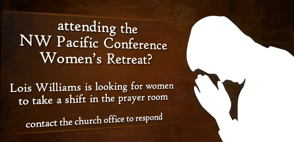 Women's Retreat Prayer Team