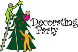 Image result for church christmas decorating party
